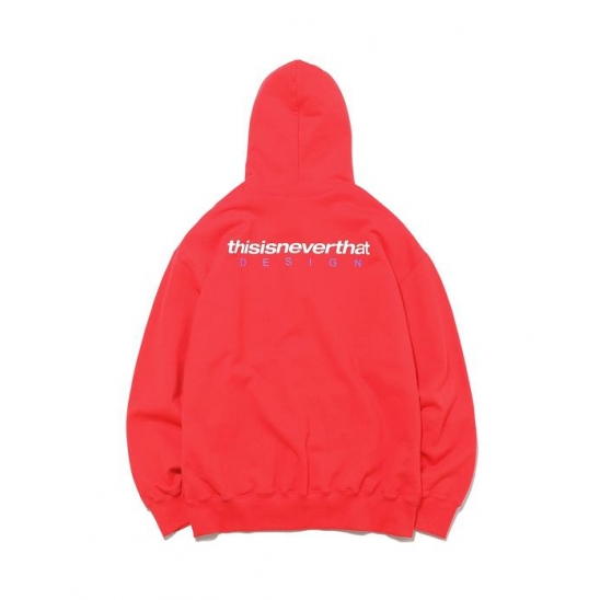 DSN Logo  Hooded Sweatshirt _ Red / 후디 후드스웻셔츠