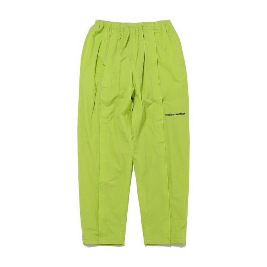 Velcro Track pant _ Lime / 팬츠 긴바지