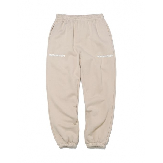 MI-Logo Sweatpant _ Light Beige / 팬츠 긴바지