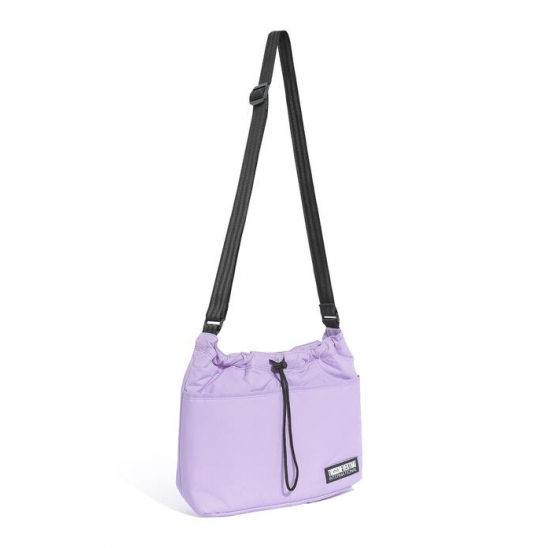 Nylon Shoulder Bag _ Lavender / 가방 숄더백