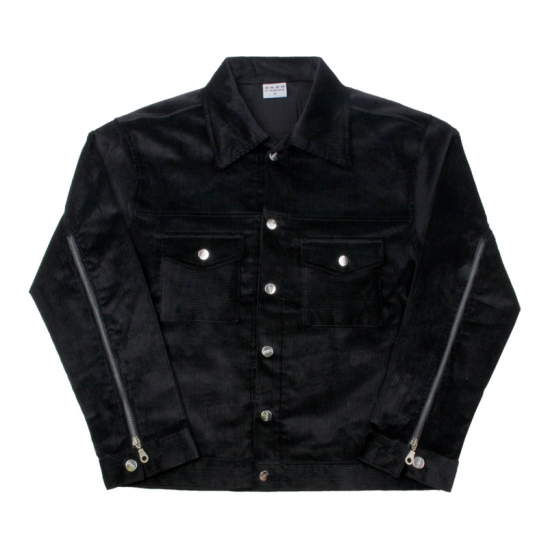 LAMC CORDUROY JACKET(BLACK)