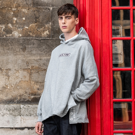 LAMC SAID POINT OVER SIZE HOODY