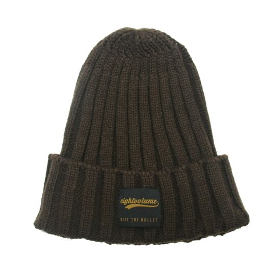 [에잇볼륨] EV POP BTB Beanie (Brown)