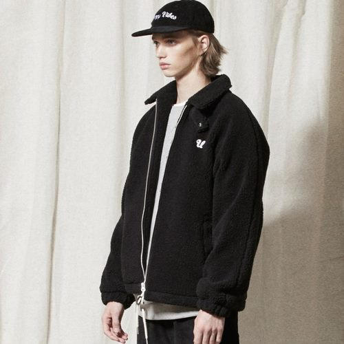 OL116_Urban Fleece Jacket_BLACK