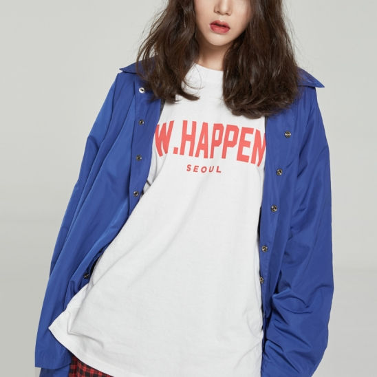 RAGLAN COACH JACKET (BLUE)