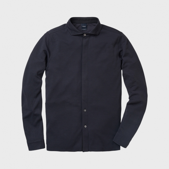 M WIDE COLLAR JERSEY SHIRT