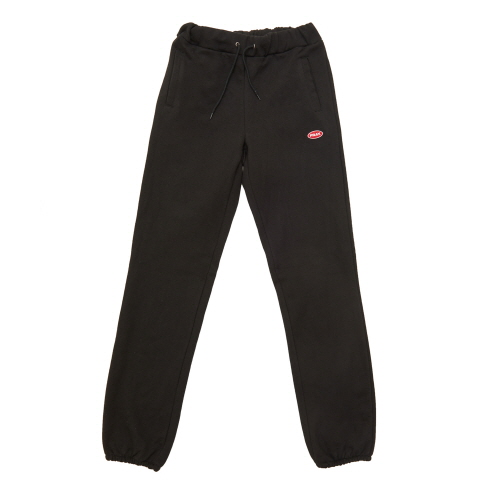 [FRAY] LOGO BASIC SWEAT PANTS - BLACK