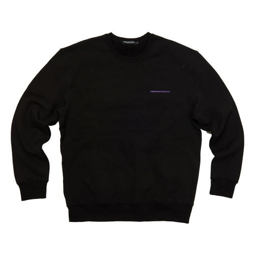 [Fresh anti youth] FRESH ANTI YOUTH CREWNECK SWEATER - BLACK