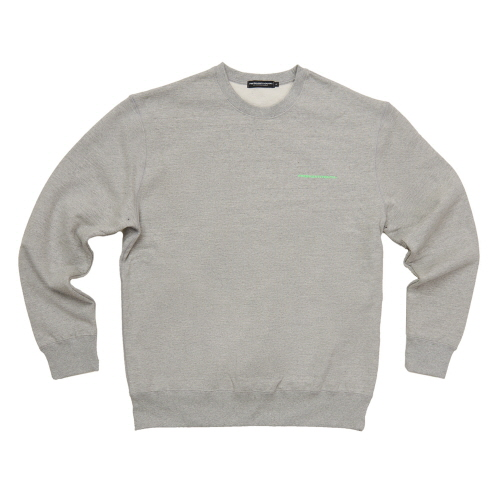 [Fresh anti youth] FRESH ANTI YOUTH CREWNECK SWEATER -GREY