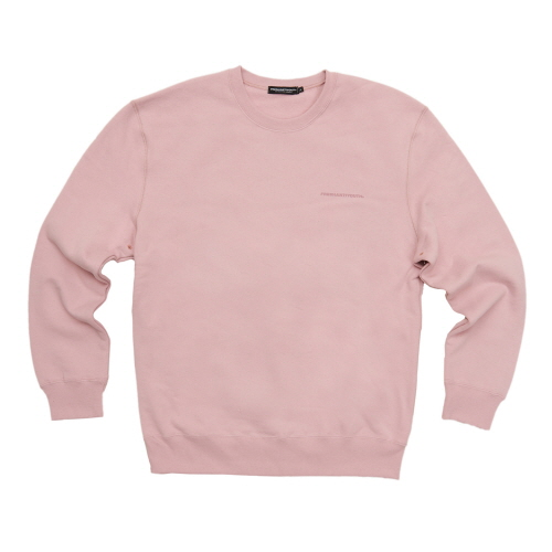 [Fresh anti youth] FRESH ANTI YOUTH CREWNECK SWEATER - PEACH