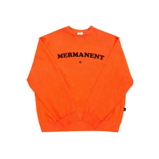 [Mmlg] Mermanent Sweat ORANGE / 맨투맨 스웻셔츠
