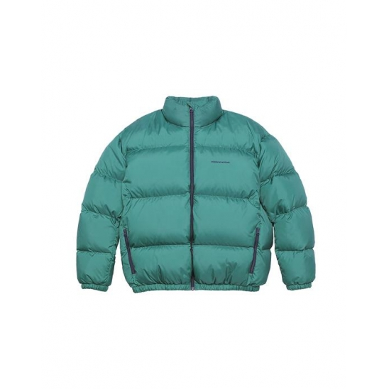 Womens SP-Logo Down Jacket Green / 디네댓 패딩