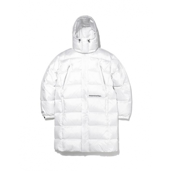 INTL. Logo CITY Down Parka White | 디네댓 롱패딩